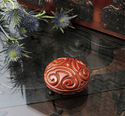 Guribori incense container