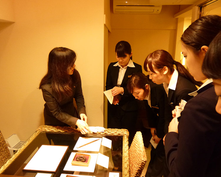 Mokume Gane Lecture: Morioka College of Businesse