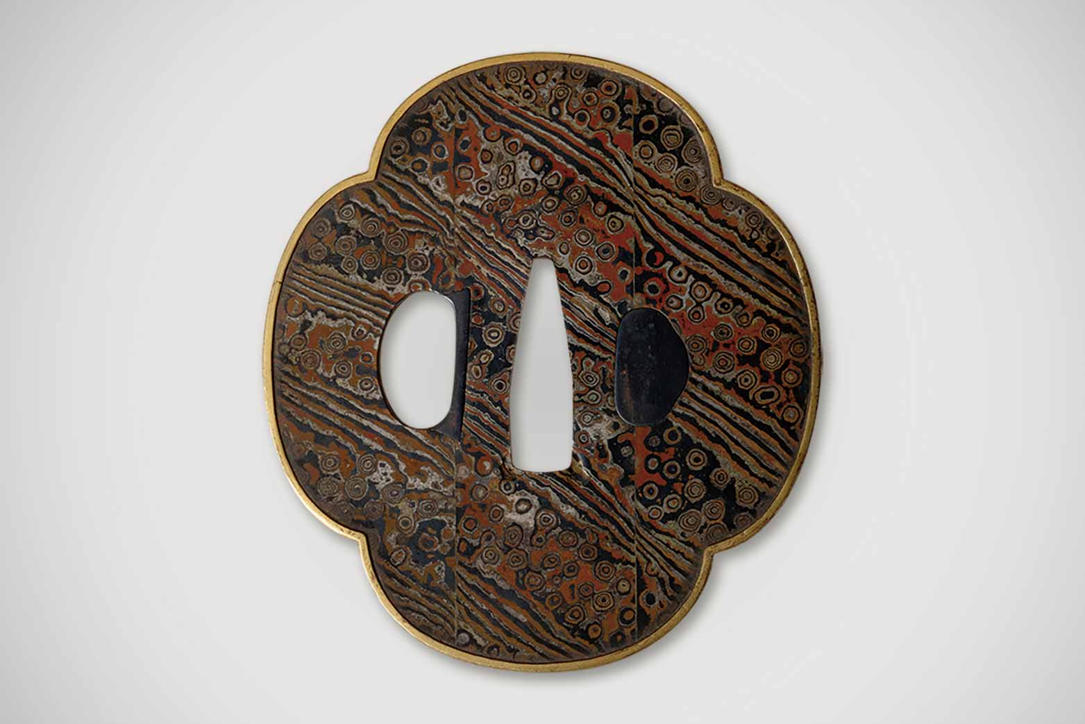 COLLECTION1 Mokume Gane Tsuba